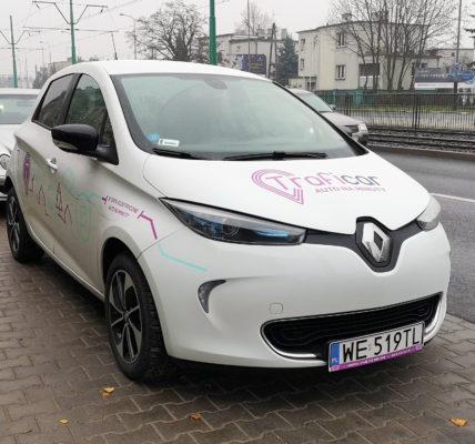 samochód elektryczny traficar