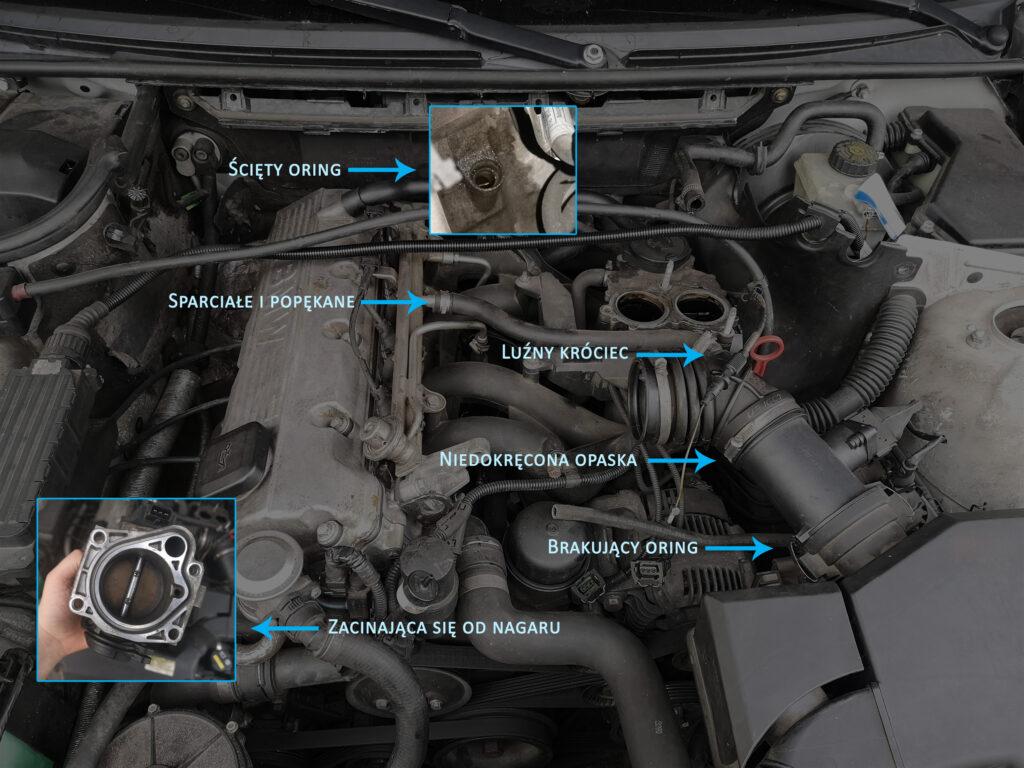 błędy mechaników