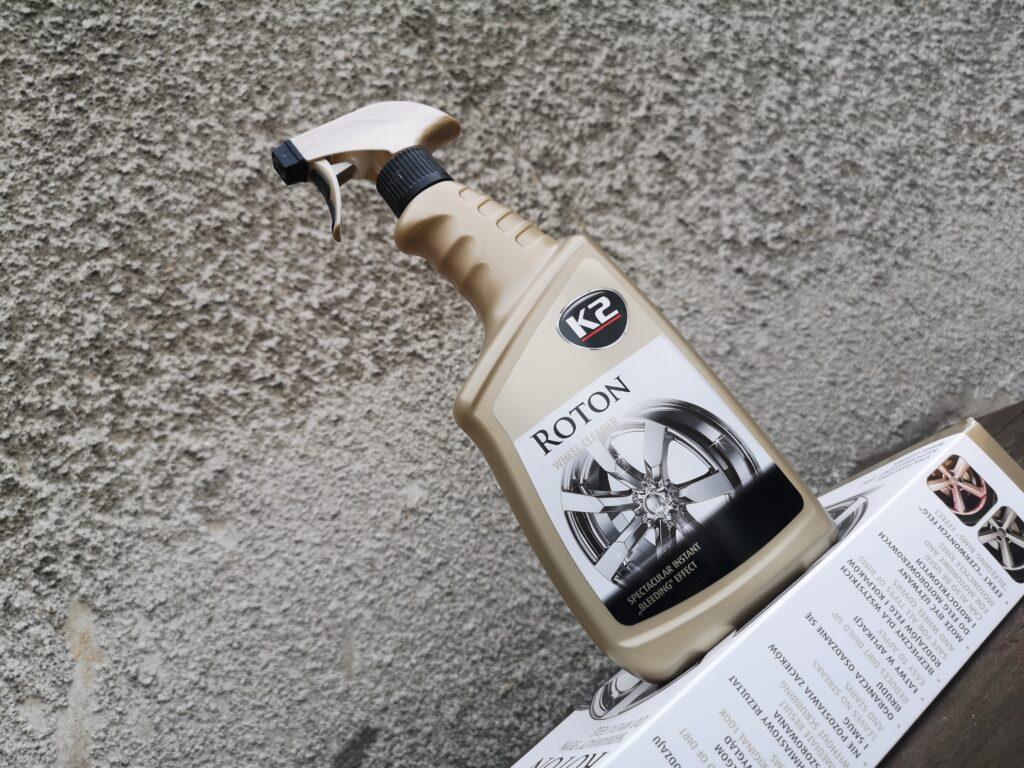 K2 Roton test i opinia o płynie do czyszczenia felg